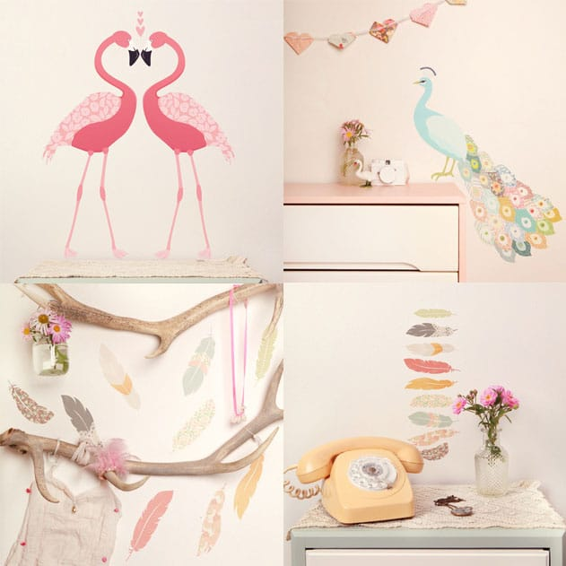 love-mae-bird-wall-stickers-image