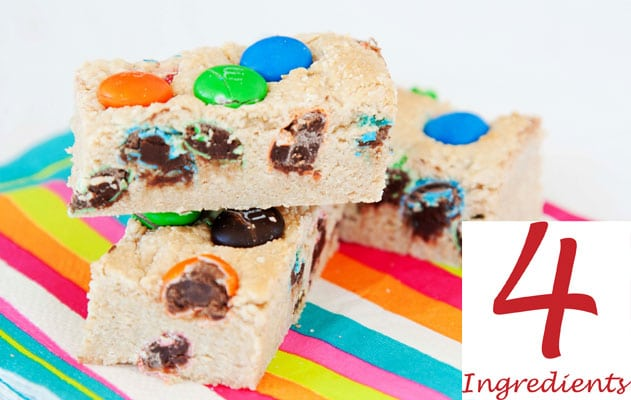 m&m slice - 4 Ingredients