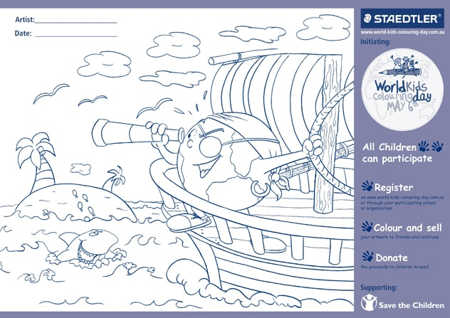 colouring page WKCD