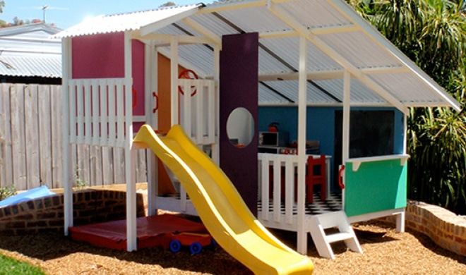 My Cubby Mega Triplex Cubby House