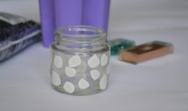diy-succulent-jars-glue-dots