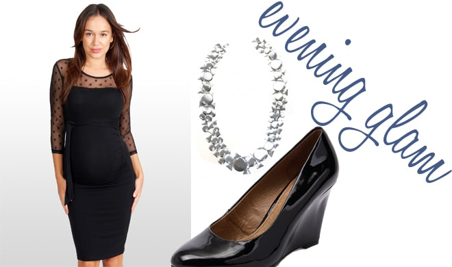 evening maternity style