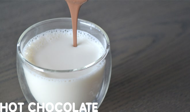 chocolate recipes - hot chocolate