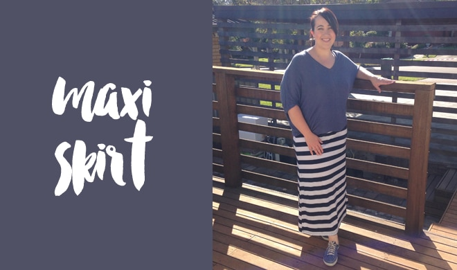 Frankie4 NiNA with maxi skirt - sneaker style