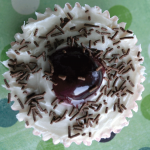 black forest cupcake decorating idea