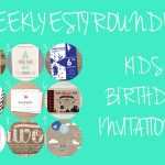 On trend kids birthday invitations