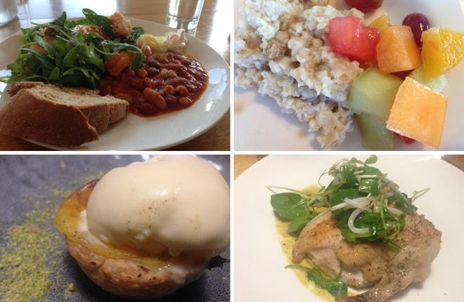 Solar Springs health retreat food