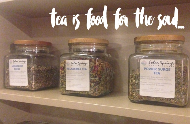 Solar Springs Health retreat herbal tea