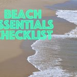Beach essentials checklist