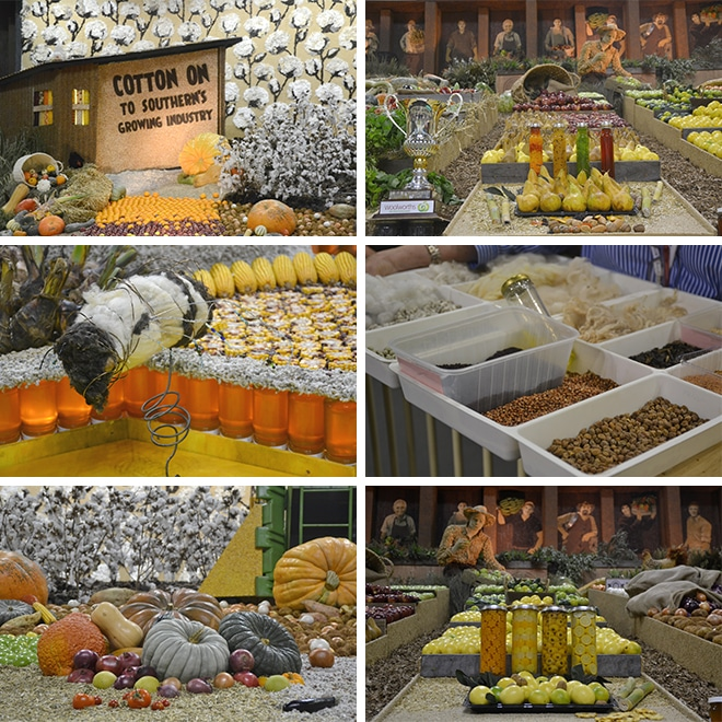 Sydney Royal Easter Show fresh food displays