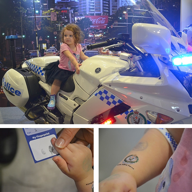 NSW Police at the Sydney Royal Easter Show