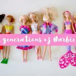 Three generations of barbie girls