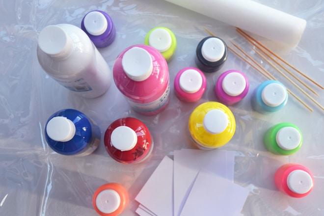 kids painting activities