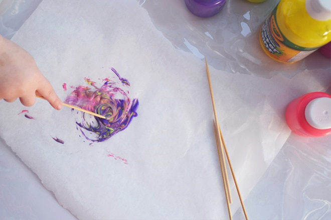 less mess easy painting activities for kids