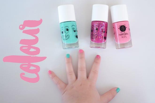 Nailmatic kids nail polish review
