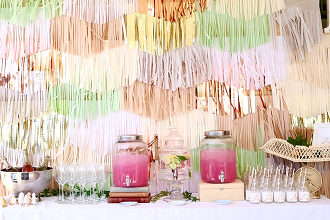 Party trends - statement backdrops