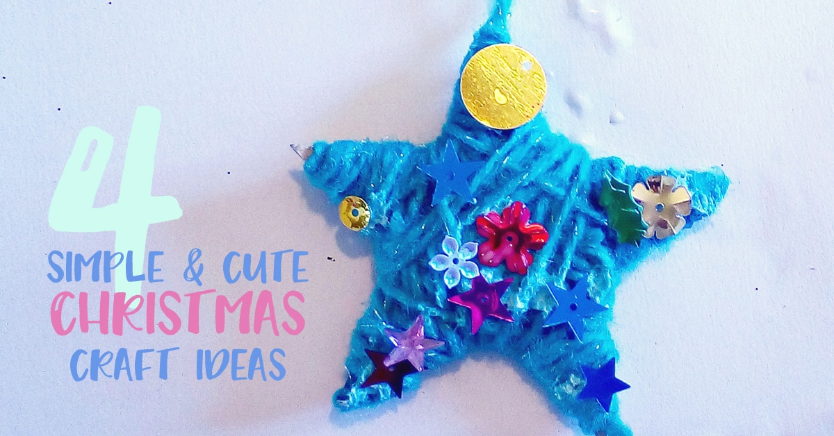 cute christmas craft ideas four simple and craft ideas kid magazine 4200