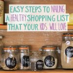 Easy steps to nailing a healthy shopping list that your kids will love