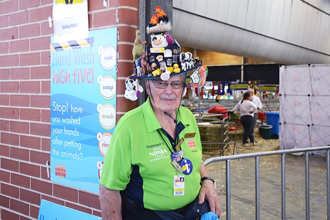 Sydney Royal Easter Show volunteers
